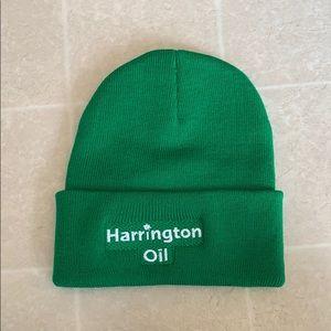 Harrington Oil Green Winter Hat